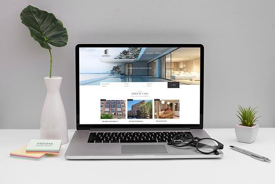 Diseño de páginas web para inmobiliarias