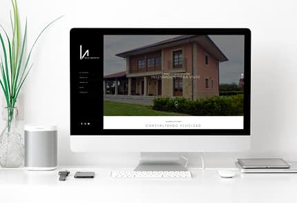 diseño de páginas web para arquitectos