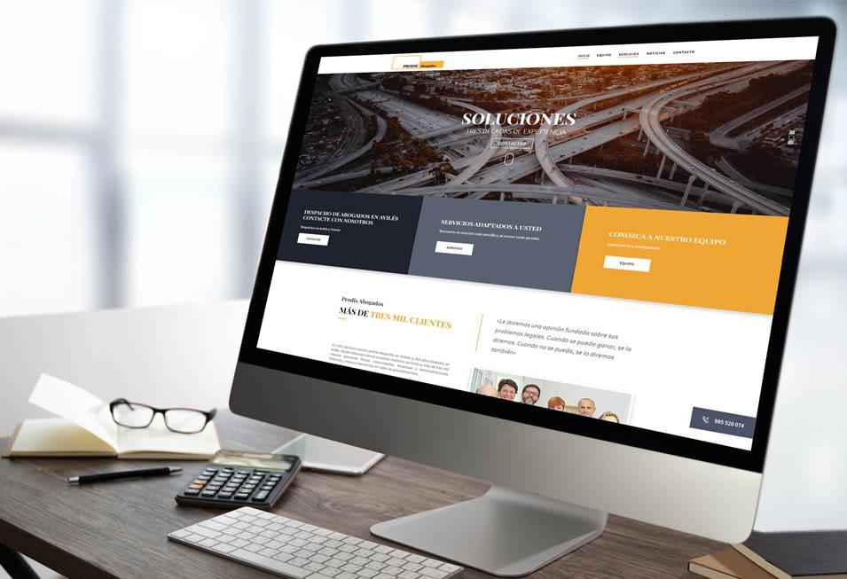 Diseño de páginas web para abogados