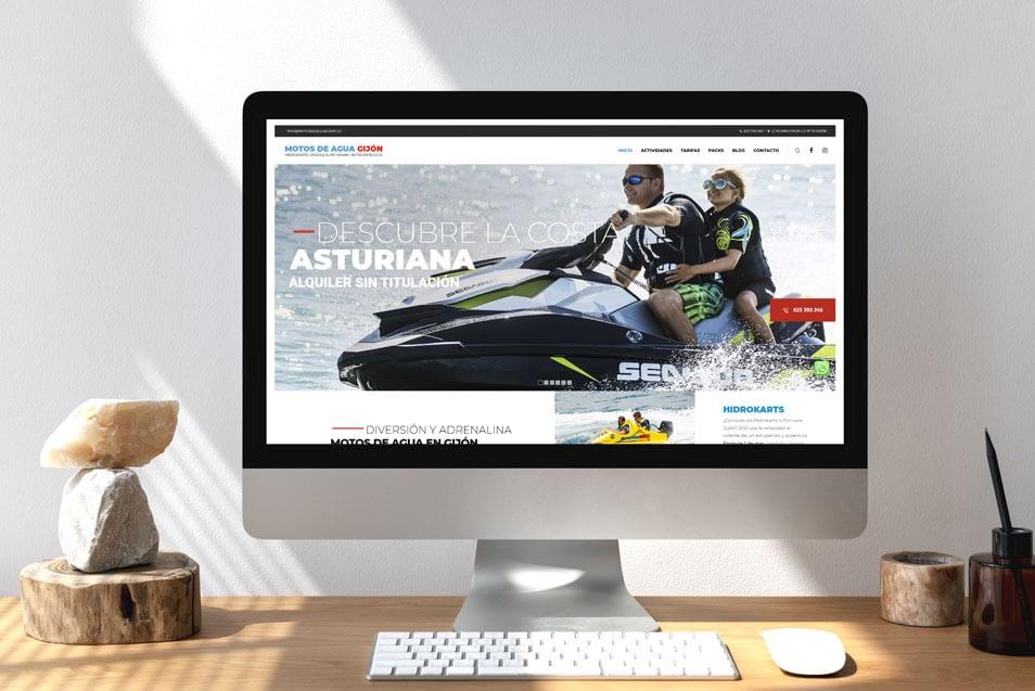 Diseño de páginas web profesionales en Asturias Oviedo, Gijón, Avilés. PRISMA ID.
