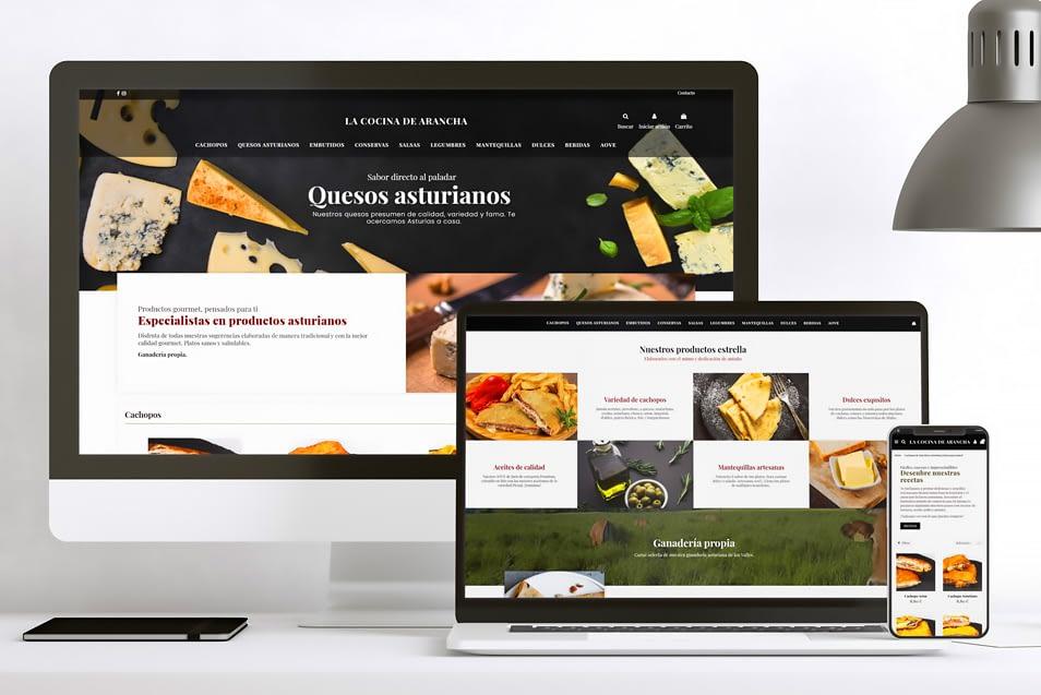 Diseño de Tienda Online para Productos Gourmet