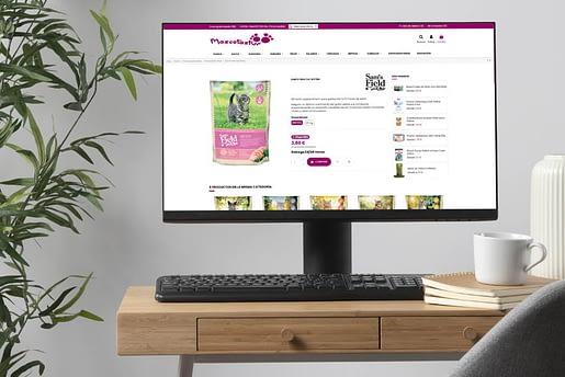 Como diseñar una tienda online para mascotas. Prisma Imagen y Diseño