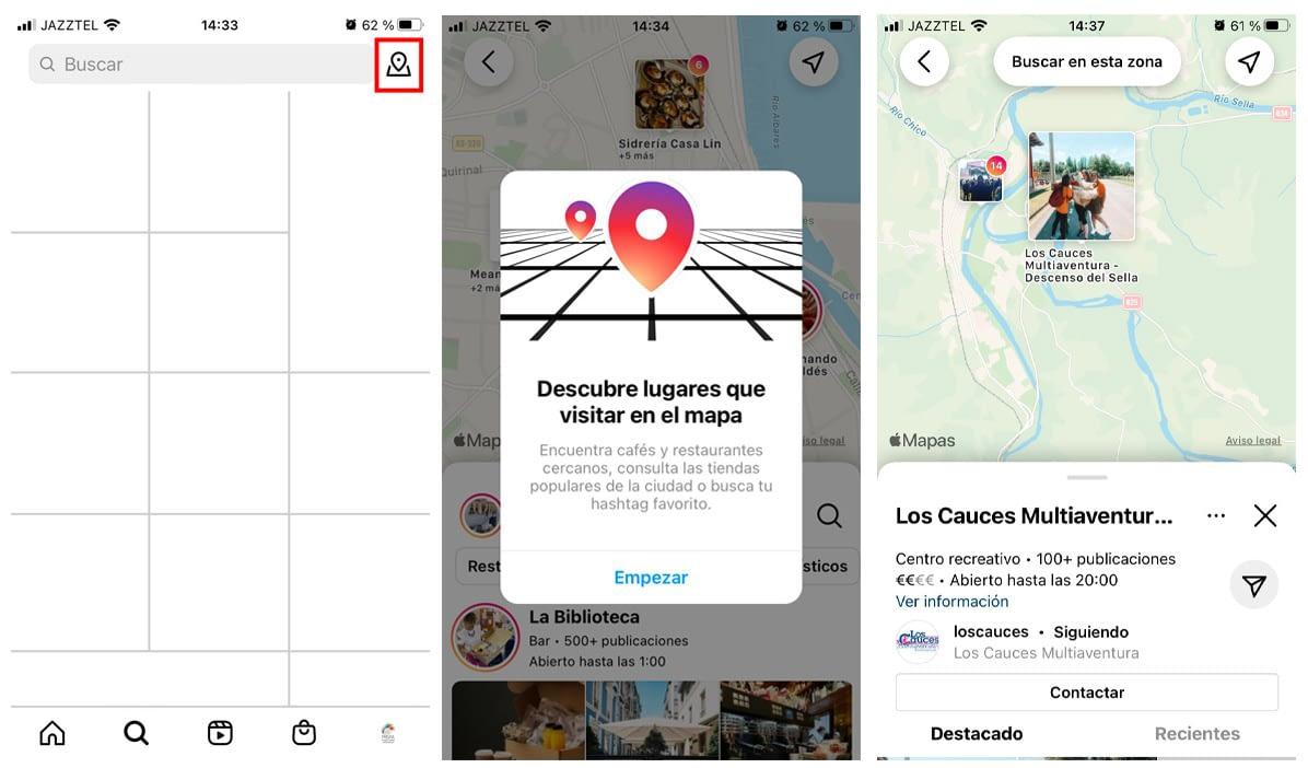 Qué es el Map Search de Instagram