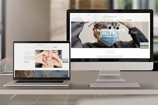 Diseño de página web para clínica dental en gijón