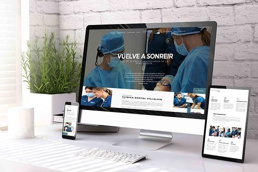 Diseño de páginas web para dentistas