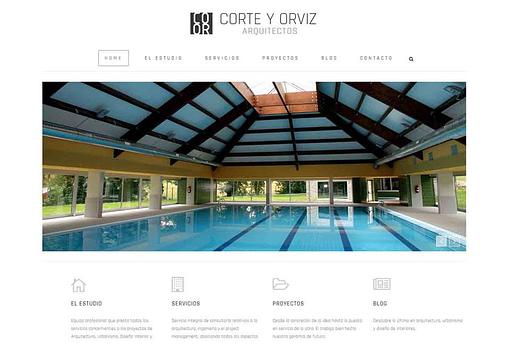 Último trabajo de PRISMA ID de diseño web en Asturias: Corte y Orviz