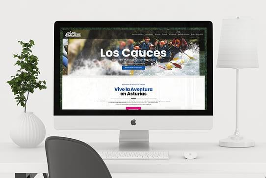 web de turismo activo