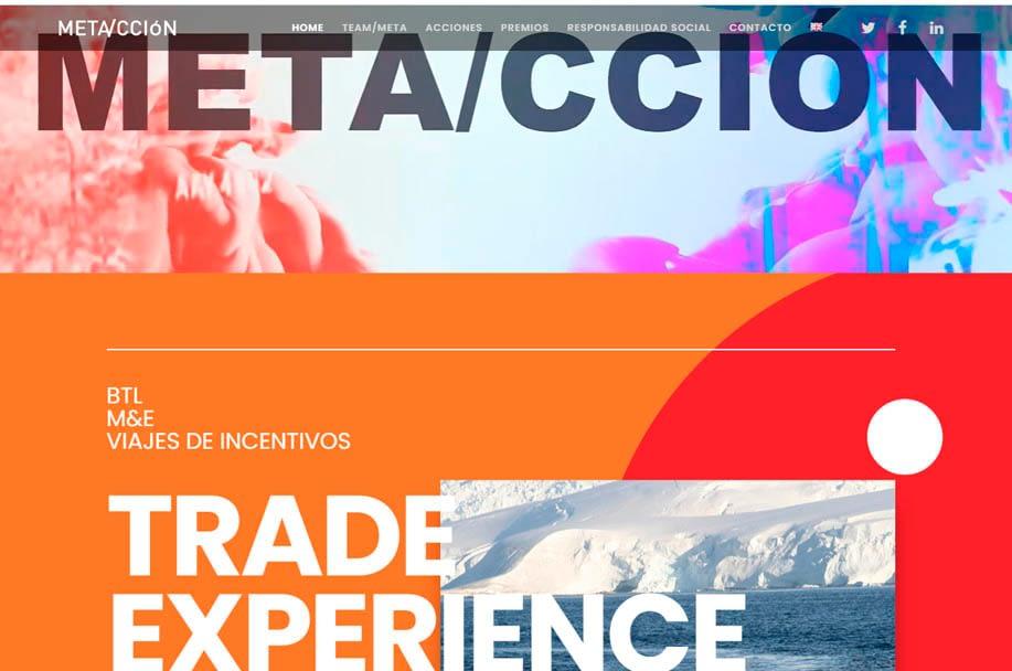 metacción. Diseño web en Madrid