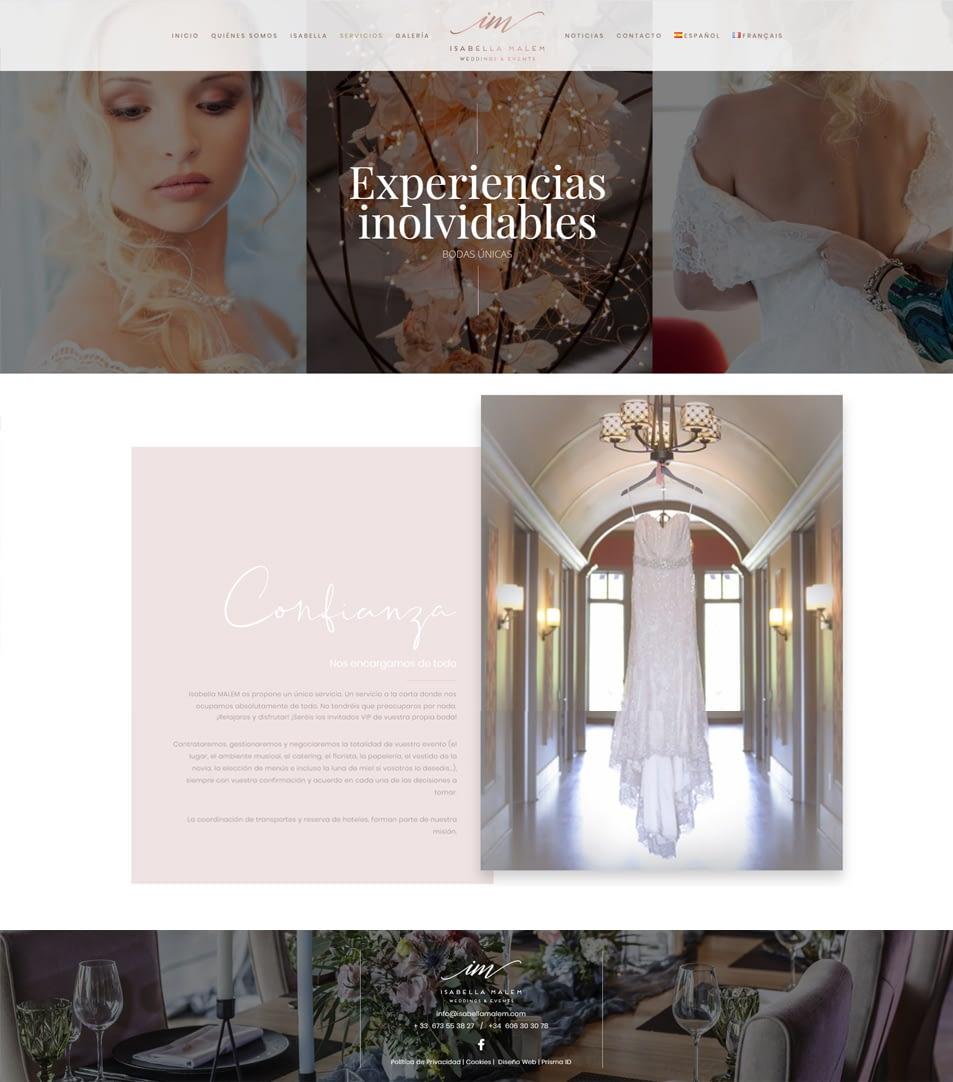 ¡CRUZAMOS FRONTERAS! ISABELLA MALEM: WEDDING PLANNER