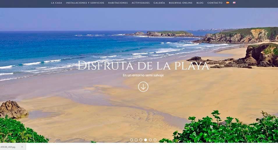 web turismo rural Casa de Castro
